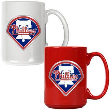 Philadelphia Phillies 2-pc. Ceramic Mug Set