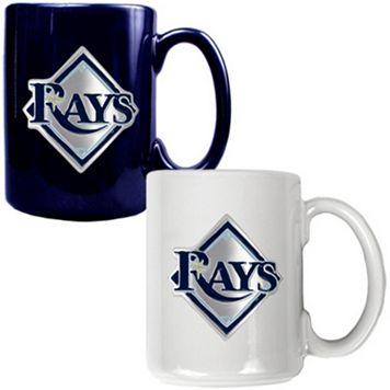 Tampa Bay Rays 2-pc. Ceramic Mug Set