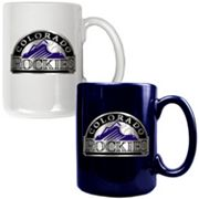 Colorado Rockies 2-pc. Ceramic Mug Set
