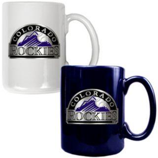 Colorado Rockies 2-pc. Ceramic Mug Set