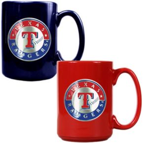 Texas Rangers 2-pc. Ceramic Mug Set