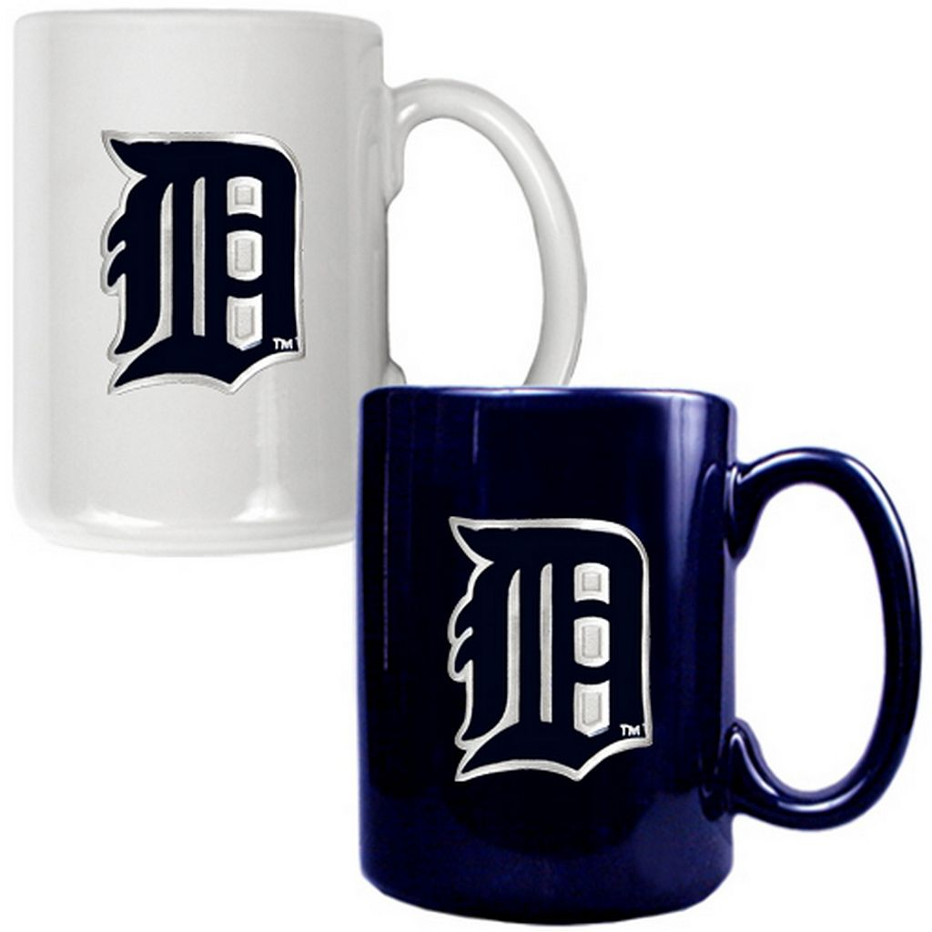 Detroit Tigers 2-pc. Ceramic Mug Set
