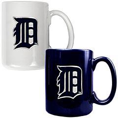Detroit Tigers 2 pc Ceramic Mug Set