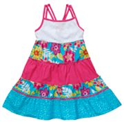 Youngland Crocheted Tiered Sundress - Girls 4-6x