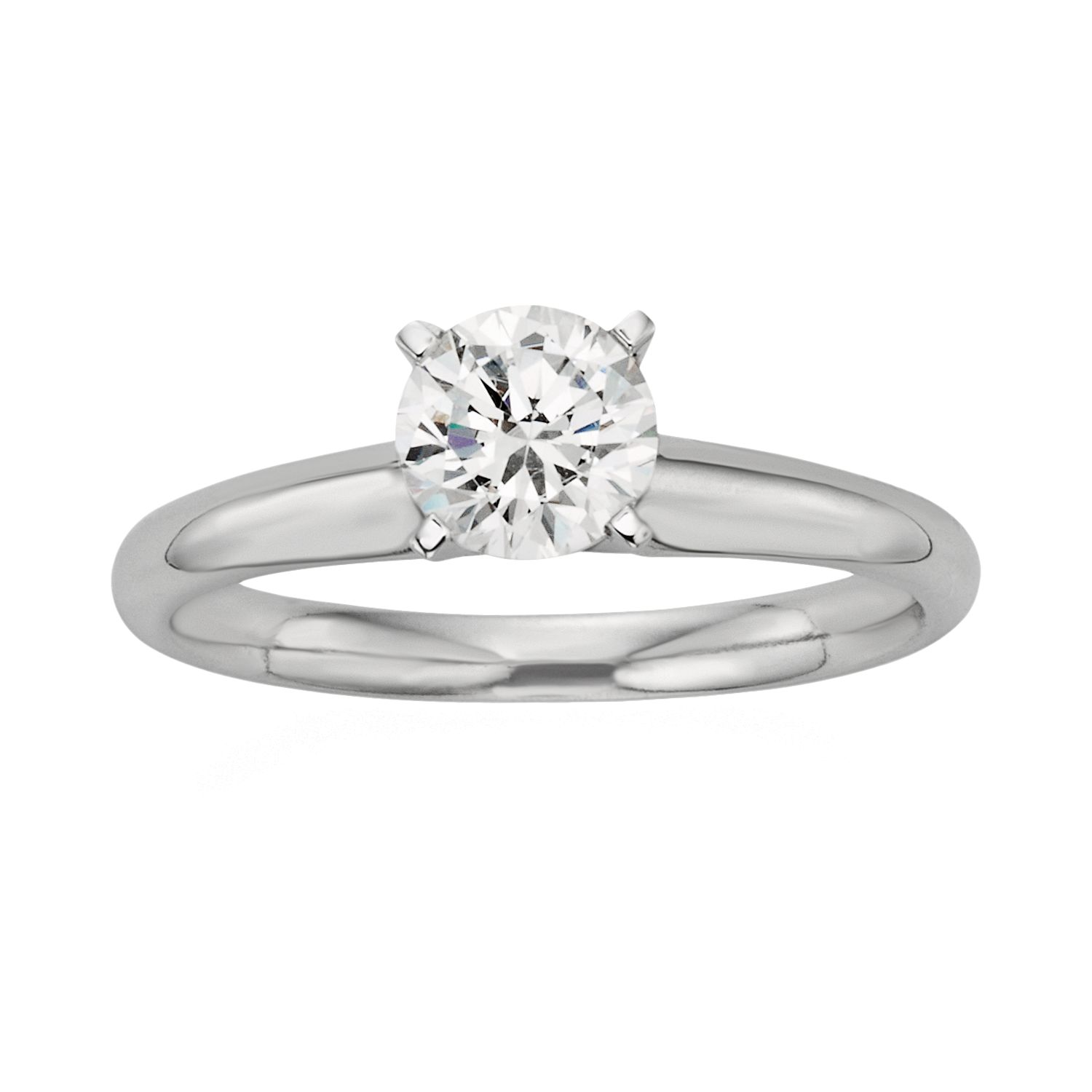 Baguette And Round Wedding Band 71 Great Round Cut IGL Certified