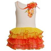Jessica Ann Floral Tutu Dress - Girls 4-6x