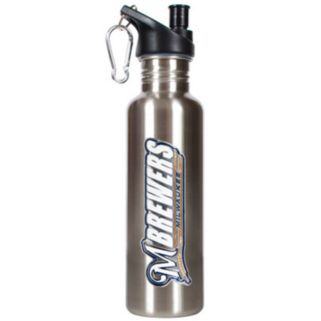 Milwaukee Brewers Stainless Steel Water Bottle