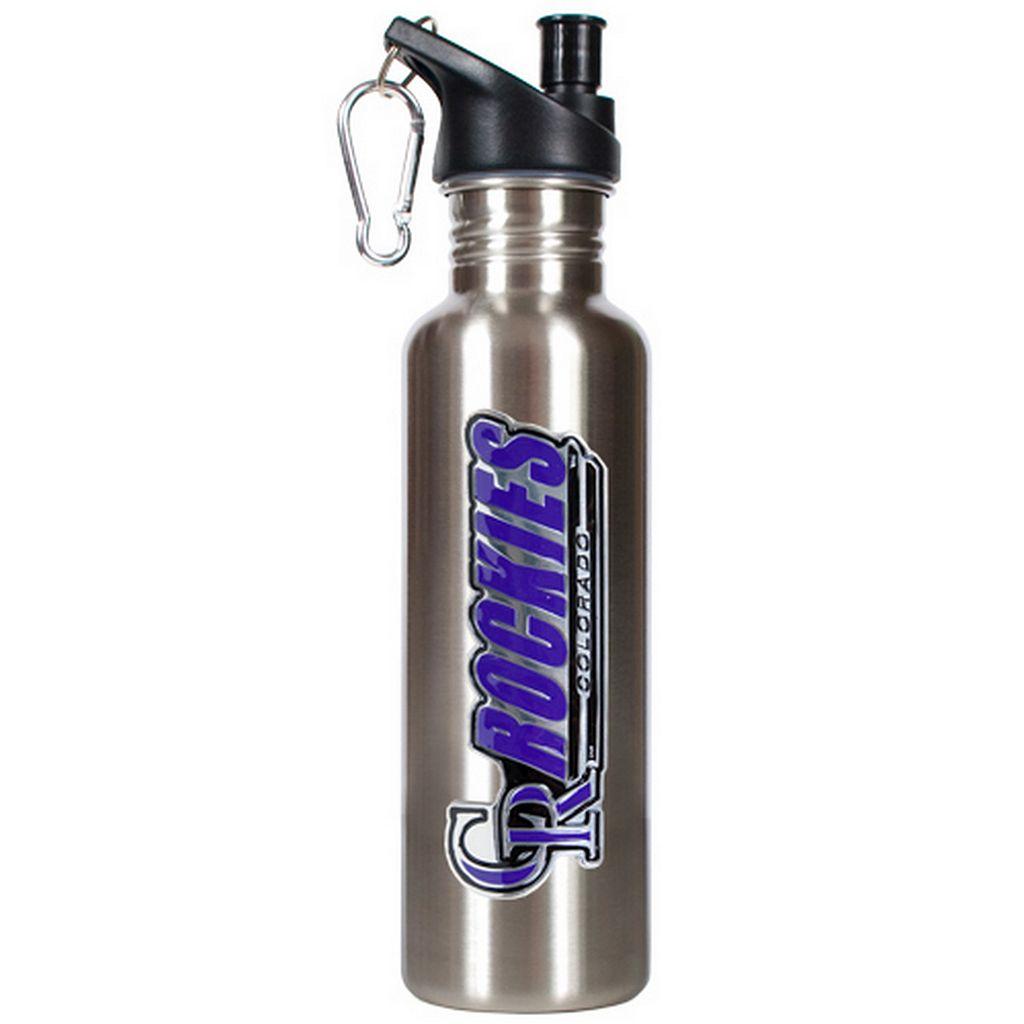 Colorado Rockies Stainless Steel Water Bottle