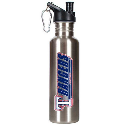 Texas Rangers Stainless Steel Water Bottle