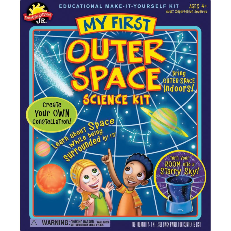 Scientific Explorer My First Outer Space Science Kit, Multicolor