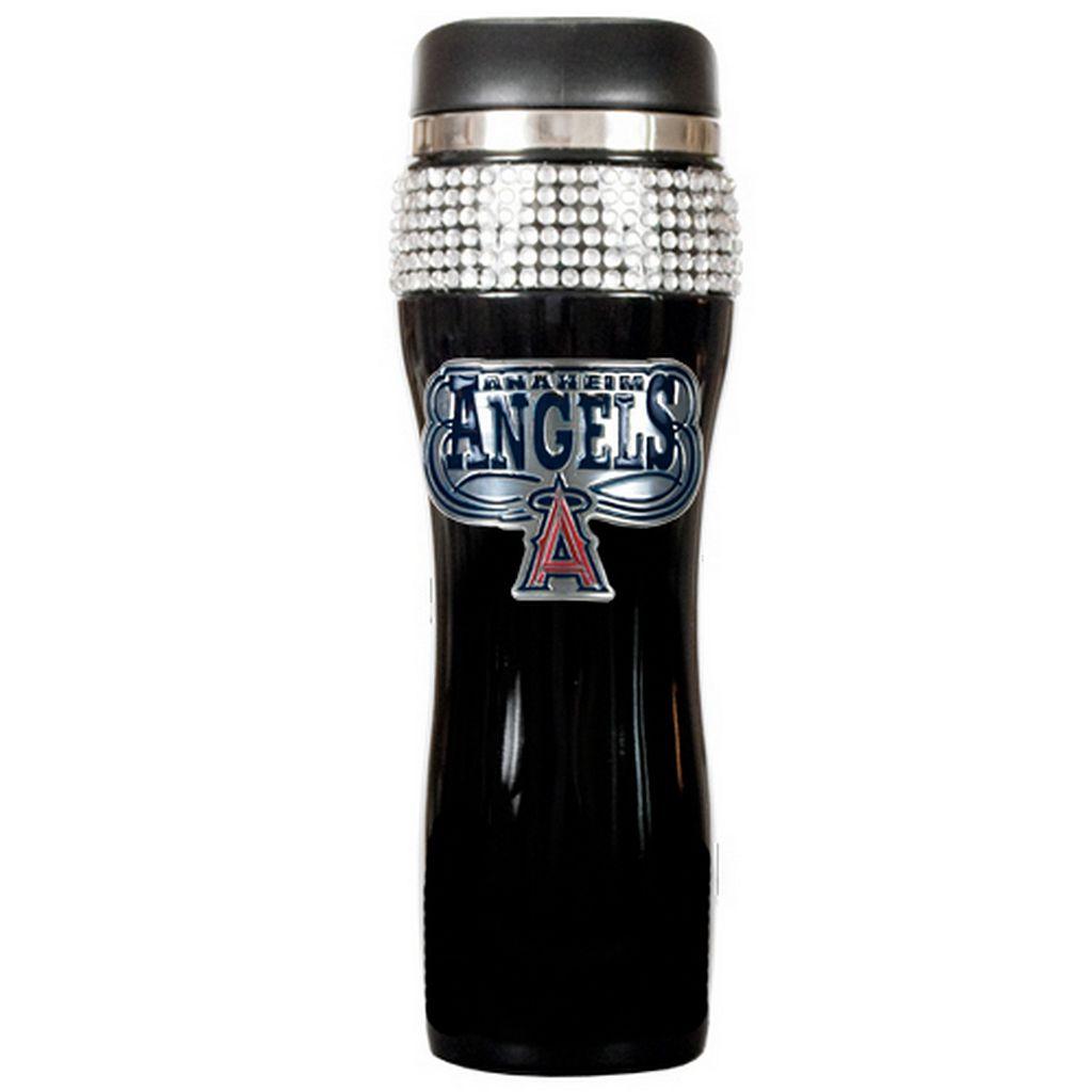 Los Angeles Angels Stainless Steel Bling Tumbler