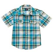 Carter's Plaid Woven Button-Down Shirt - Boys 4-7