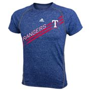 adidas Texas Rangers Heathered Performance Top - Boys 8-20