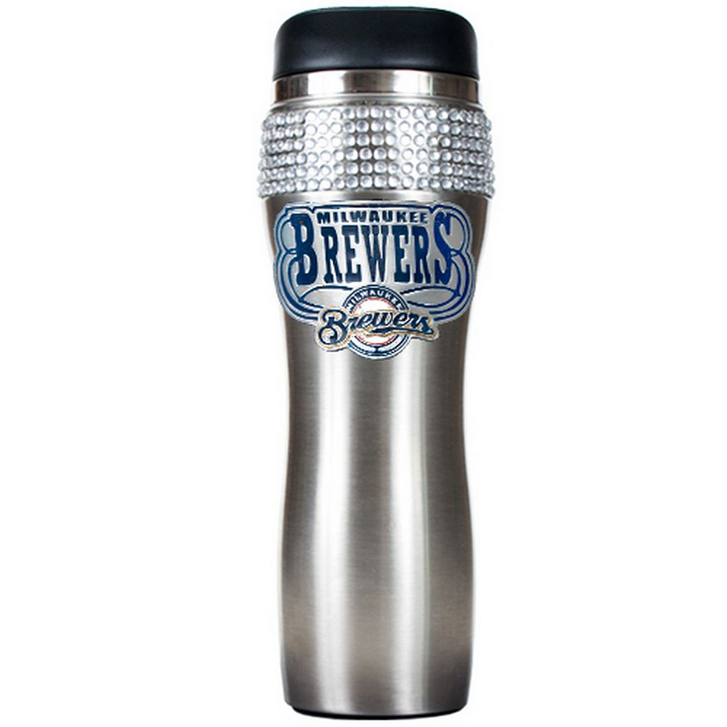 Milwaukee Brewers Stainless Steel Tumbler