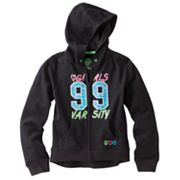 SO 99 Varsity Hi-Low French Terry Hoodie - Girls Plus