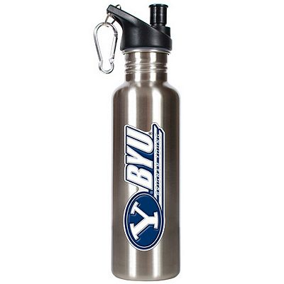 BYU Cougars Stainless Steel Water Bottle