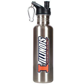 Illinois Fightin' Illini Stainless Steel Water Bottle
