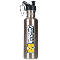 Michigan Wolverines Stainless Steel Water Bottle