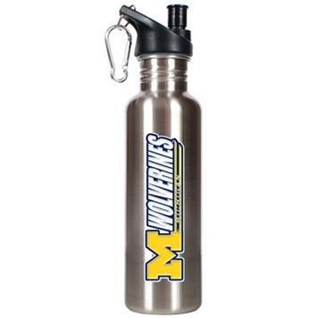 Michigan Wolverines Stainless Steel Water Bottle