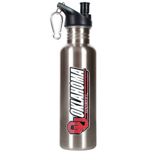 Oklahoma Sooners Stainless Steel Water Bottle