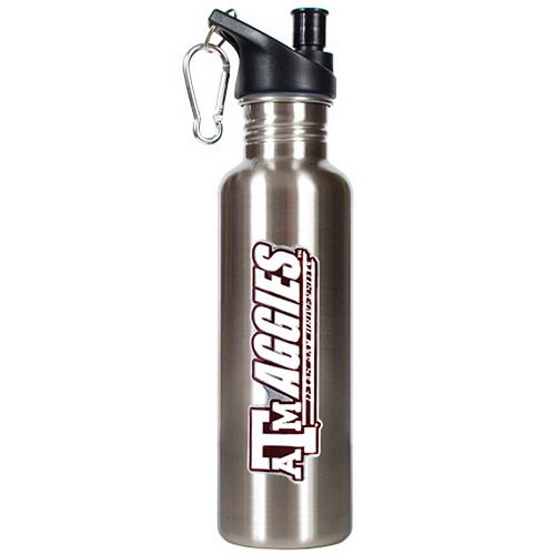 Texas A and M Aggies Stainless Steel Water Bottle