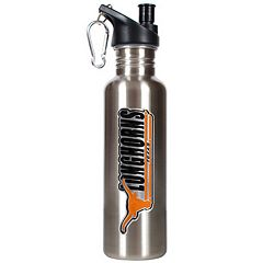 Texas Longhorns Stainless Steel Water Bottle