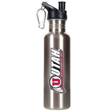 Utah Utes Stainless Steel Water Bottle