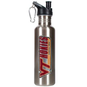 Virginia Tech Hokies Stainless Steel Water Bottle
