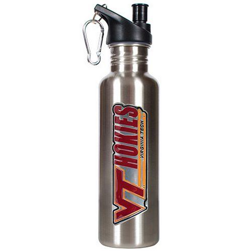 Virgnia Tech Hokies Stainless Steel Water Bottle