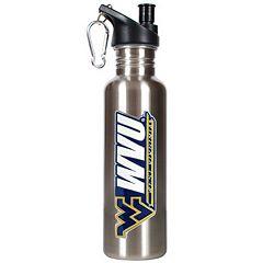 West Virginia Mountaineers Stainless Steel Water Bottle