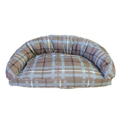 Carolina Pet Co. Brutus Tuff Semicircle Lounge Pet Bed - 54 x 36
