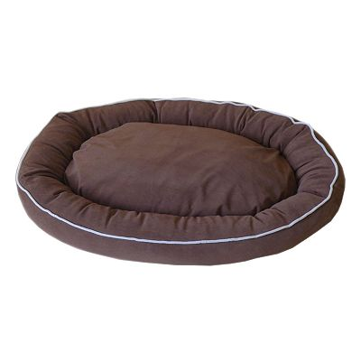 Carolina Pet Co. Microfiber Oval Lounge Pet Bed - 42 x 30