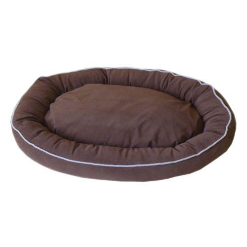 Carolina Pet Co. Microfiber Oval Lounge Pet Bed - 42'' x 30''