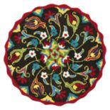 Loloi Azalea Scalloped Floral Rug - 3' Round