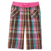 Jumping Beans Plaid Capris - Toddler