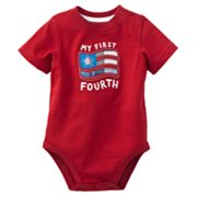 Jumping Beans My First Fourth Bodysuit - Baby