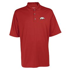 Men's Arkansas Razorbacks Exceed Desert Dry Xtra-Lite Performance Polo
