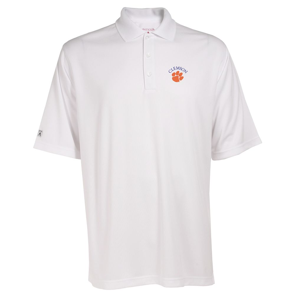 Men's Clemson Tigers Exceed Desert Dry Xtra-Lite Performance Polo