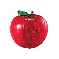 3D Crystal Apple Puzzle