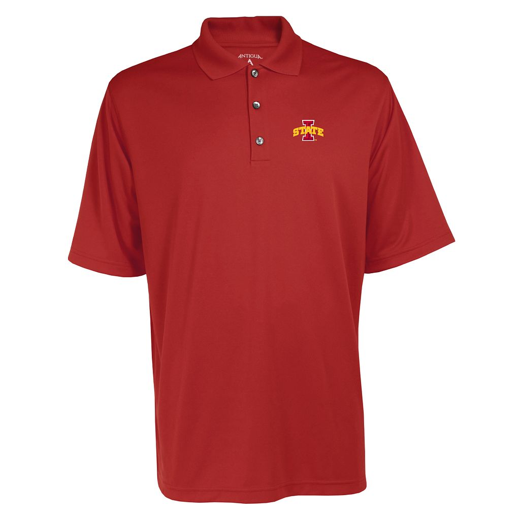 Men's Iowa State Cyclones Exceed Desert Dry Xtra-Lite Performance Polo