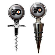 Philadelphia Flyers Cork Screw and Wine Bottle Topper Set