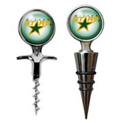 Dallas Stars Cork Screw and Wine Bottle Topper Set