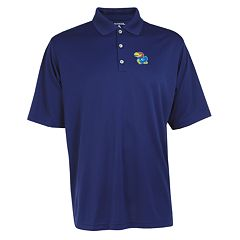 Men's Kansas Jayhawks Exceed Desert Dry Xtra-Lite Performance Polo