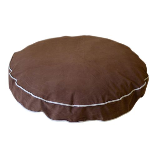 Carolina Pet Co. Microfiber Round-A-Bout Round Pet Bed - 35''