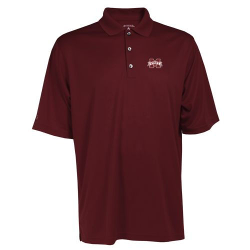 Men's Mississippi State Bulldogs Exceed Desert Dry Xtra-Lite Performance Polo