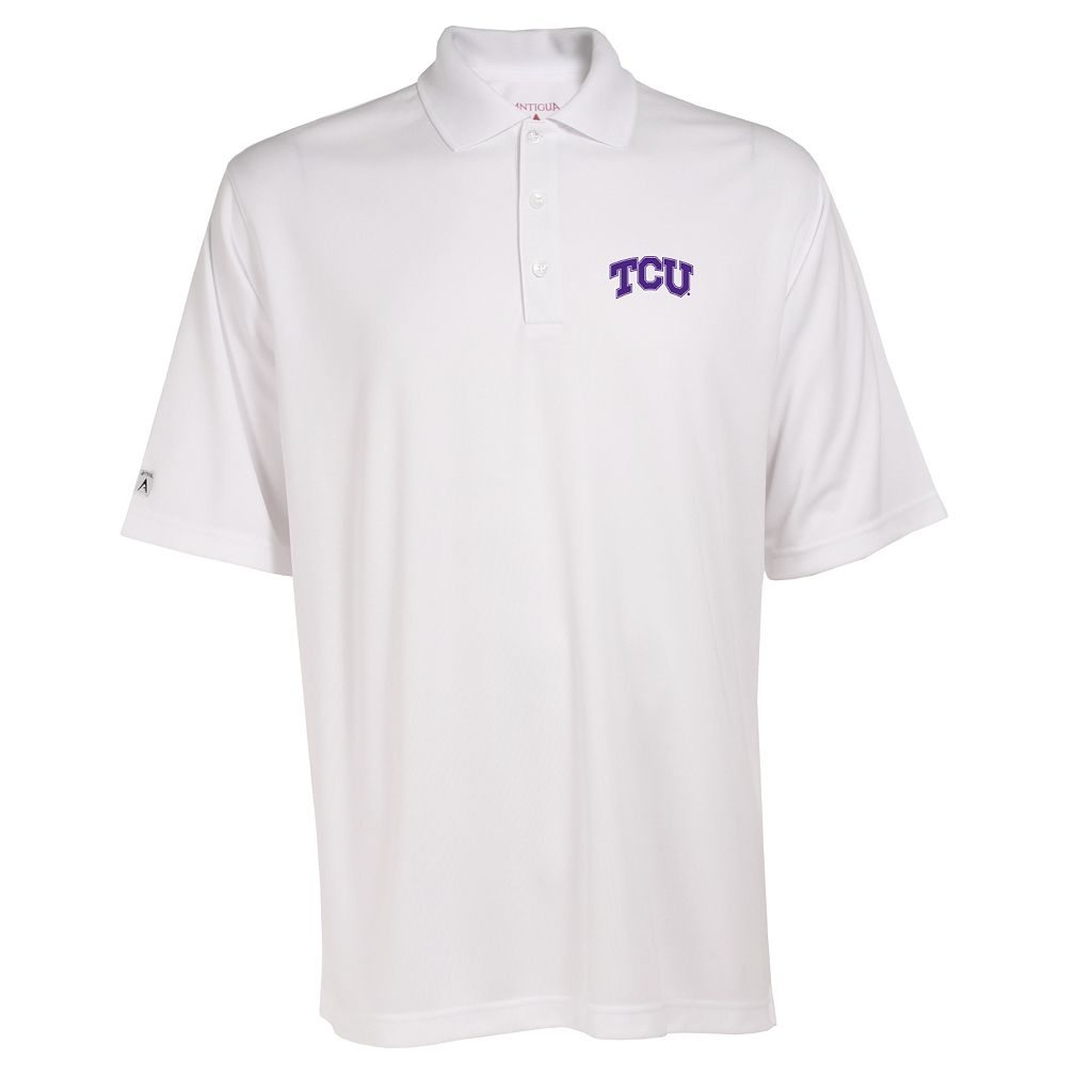 Men's TCU Horned Frogs Exceed Desert Dry Xtra-Lite Performance Polo