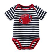 Jumping Beans Striped Football Bodysuit - Baby
