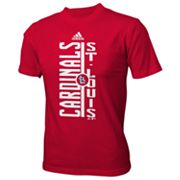 adidas St. Louis Cardinals Taking Turns Tee - Boys 8-20