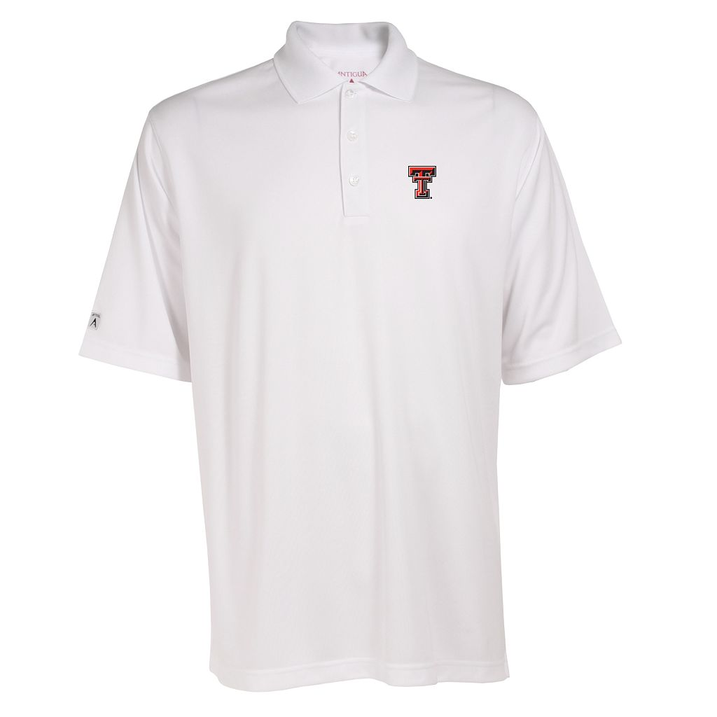 Men's Texas Tech Red Raiders Exceed Desert Dry Xtra-Lite Performance Polo