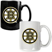 Boston Bruins 2-pc. Ceramic Mug Set